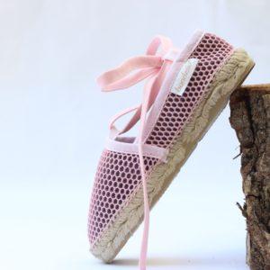 Alpargata Brisa plana bailarina rosa de Bondesio