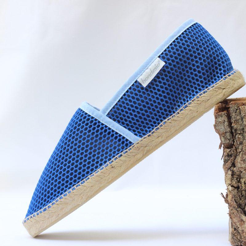 Alpargata Brisa plana azul klein-azul de Bondesio
