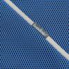 Tejido Brisa azul klein con bies gris de Bondesio