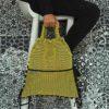Mochila Brisa amarillo diseñada y confeccionada por Bondesio