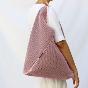 bolsos origami brisa son bolso mujer hecho a mano bolso rosado