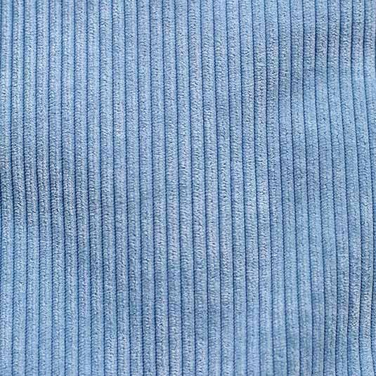 Tejido pana azul de Bondesiobebe