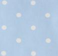 Tejido topos azul celeste de Bondesiobebe
