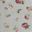 Tejido vintage flor rosa-azul de Bondesiobebe