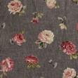 Tejido vintage flor rosa-gris de Bonesiobebe