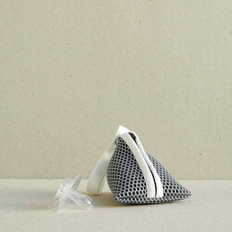 Portachupetes Brisa gris de Bondesiobebe