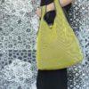 Bolso Camiseta amarillo confeccionado en tejido transpirable Brisa diseño propio