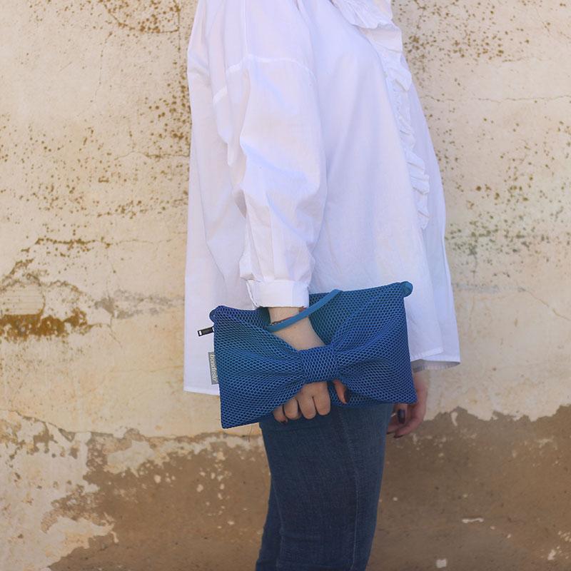 clutch azul