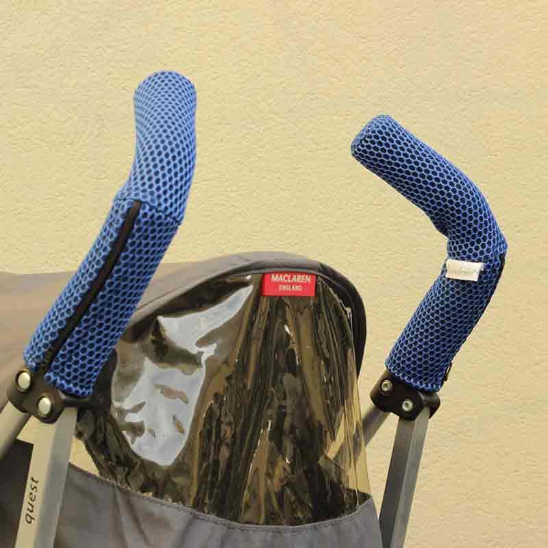 Protector Brisa azul klein empuñadura silla de paseo tipo Maclaren