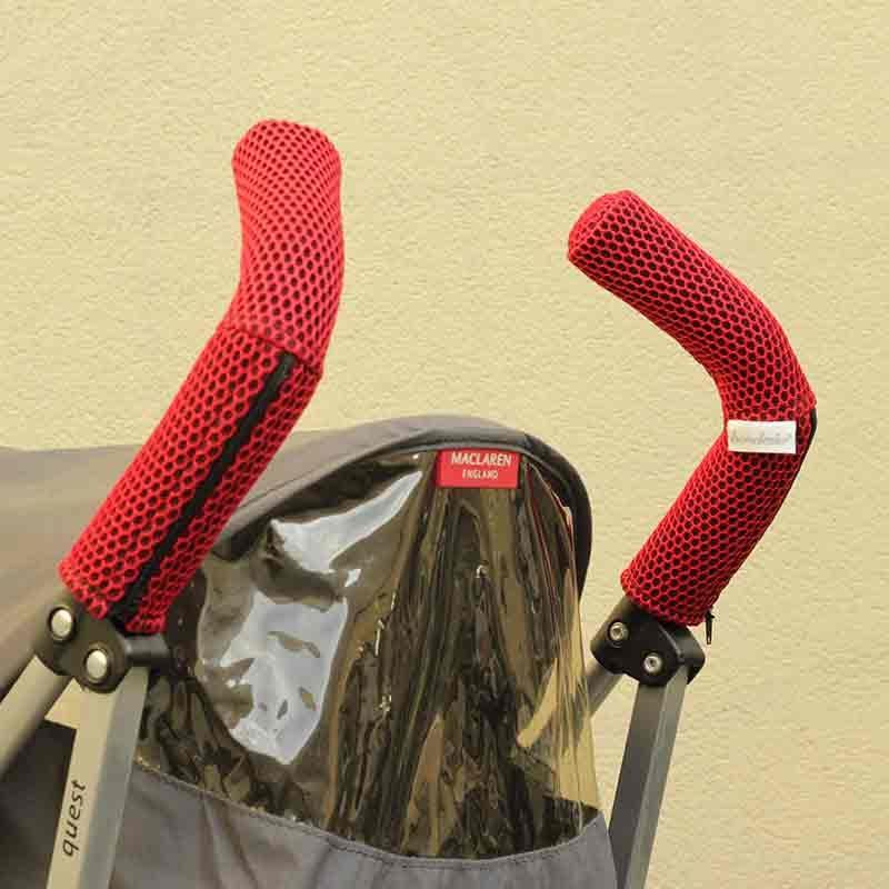 Protector Brisa rojo empuñadura silla de paseo tipo Maclaren
