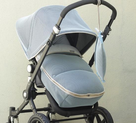 Capota extensible funda y saco silla para Bugaboo personalizado por Bondesiobebe y hecho a mano