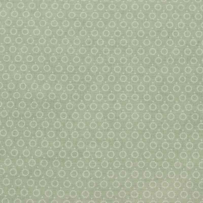 Tejido Guirnalda verde. Colección Bondesio FW 17/18