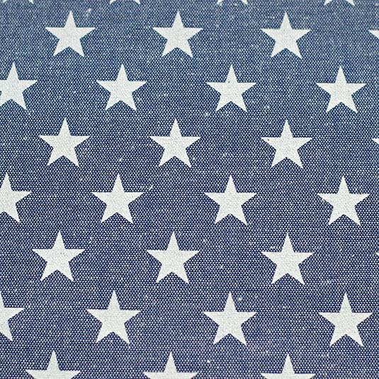Loneta estrellas azul Bondesiobebe