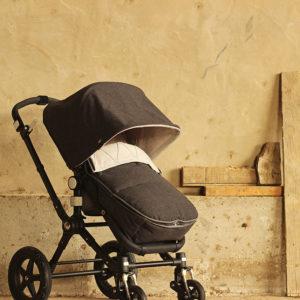 Capota carro bebe confeccionada y bordada por Bondesio