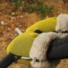 Guantes Brisa amarillos para carrito de bebe confeccionados por Bondesio