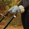 Guantes Brisa azul para carrito de bebe confeccionados por Bondesio
