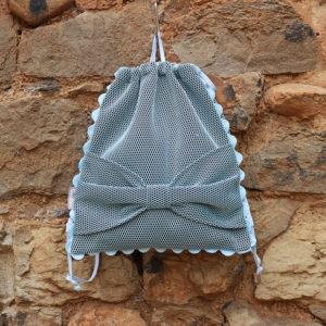 mochila lazo azul