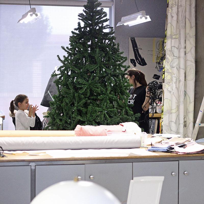 taller Bondesio vestido de navidad
