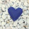 Pin corazón brisa azul klein de Bondesio