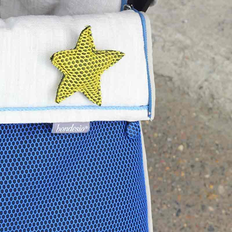 Pin estrella brisa amarillo de Bondesio
