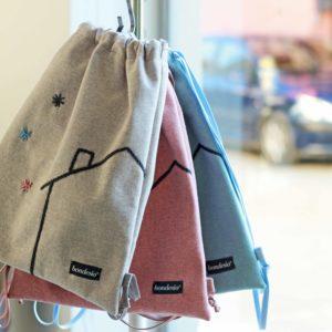 mochilas infantiles bordadas