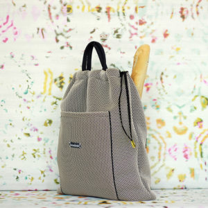 bolso panera transpirable