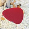 funda roja taburete ikea