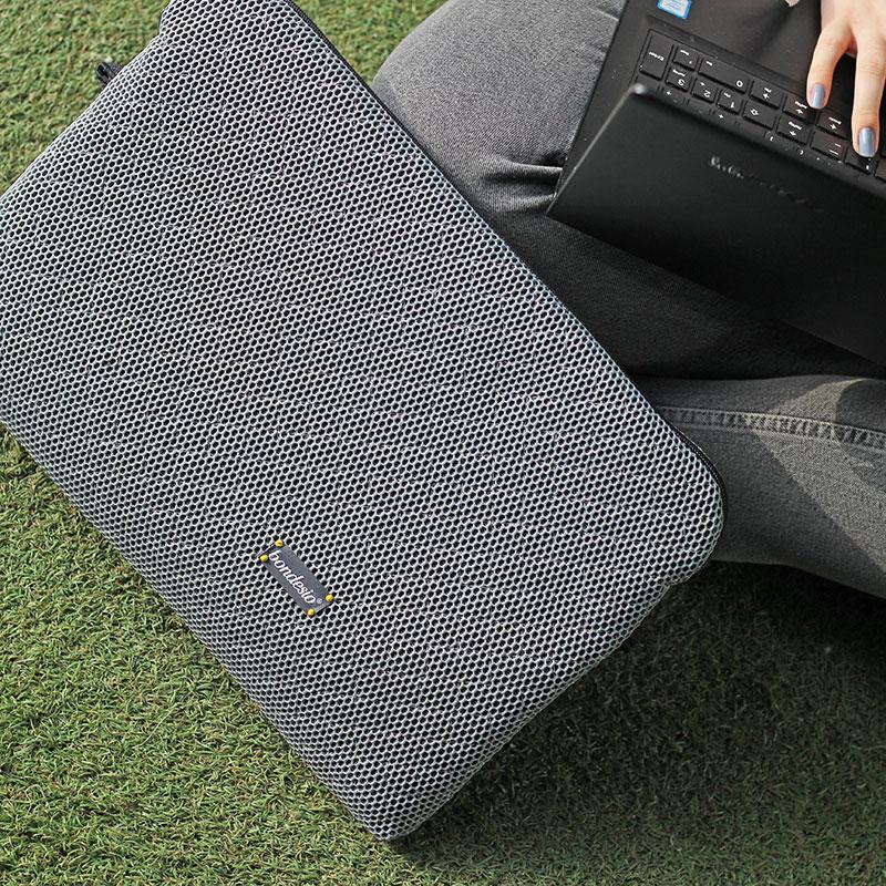 funda ordenador gris