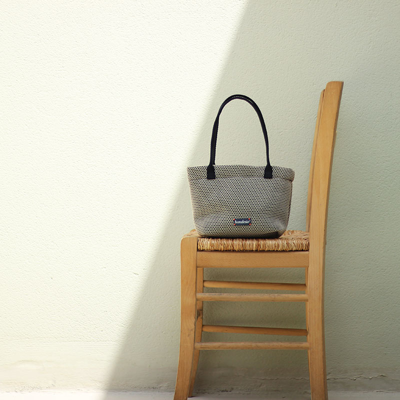 bolso beige lavable