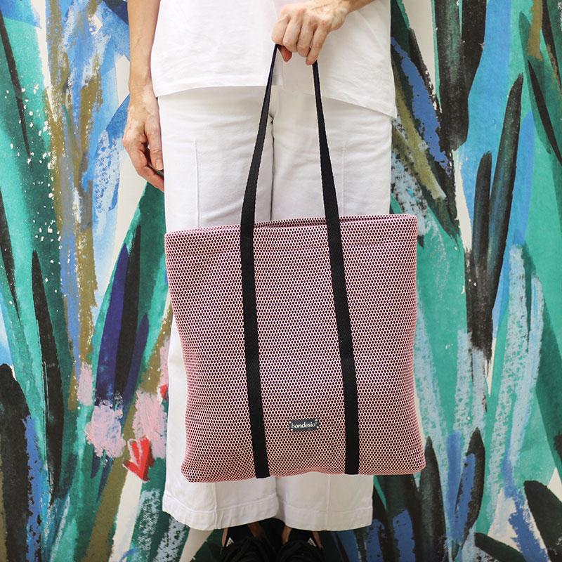 bolso rosa lavable
