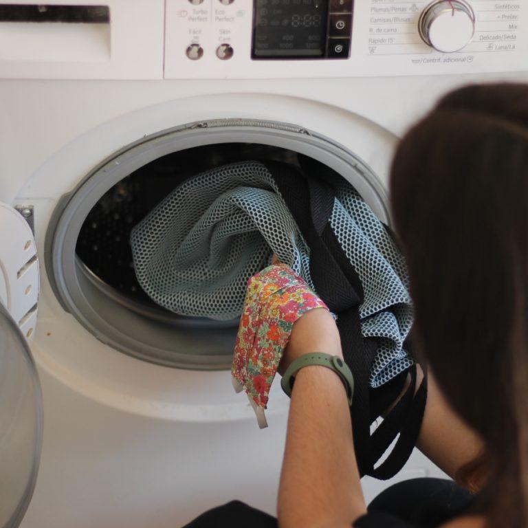 bolso lavable