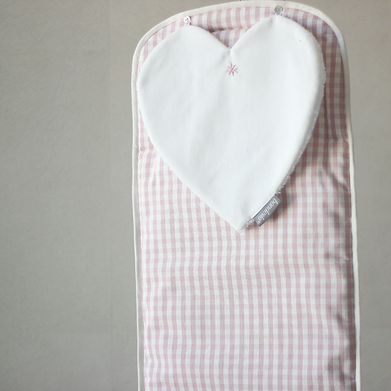 colchón carro bebe rosa