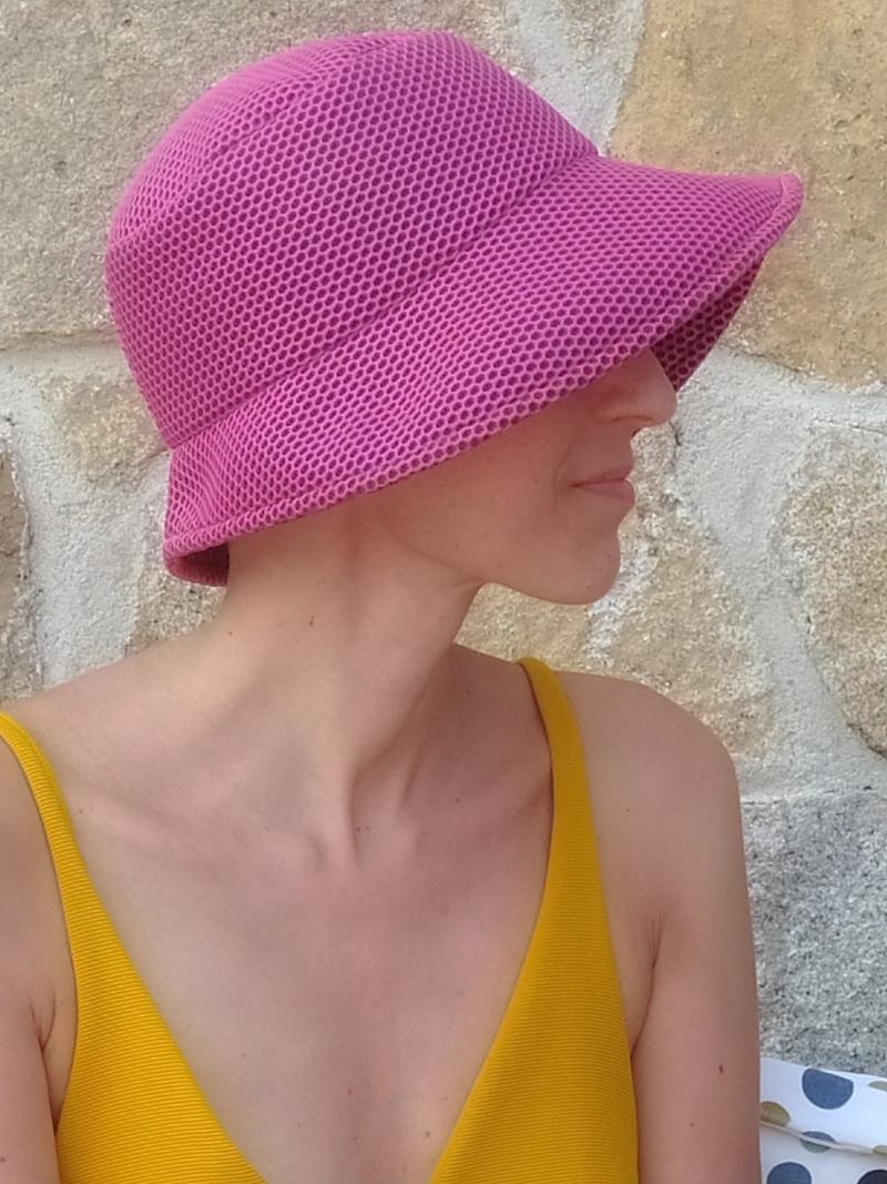 sombrero frambuesa