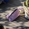bolso de mano rosa